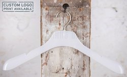 Barby frosted coat hanger