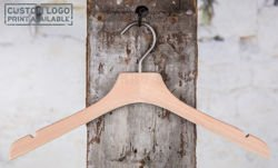 Barry natural shirt hanger