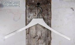 Crosby - white coat hanger