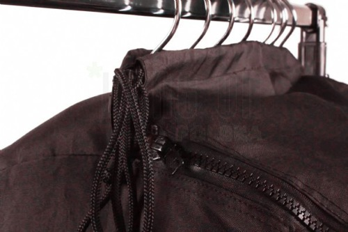 Bag for clothes, black, 130 cm