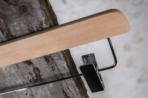 Wooden hanger with clips, 36 cm, style 2011-104-998